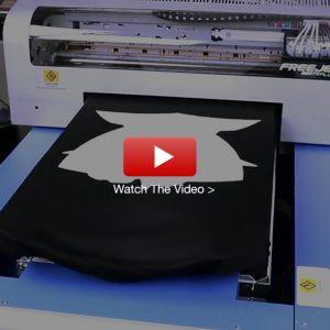 FreeJet 330TX Plus Hybrid Screen Print to DTG