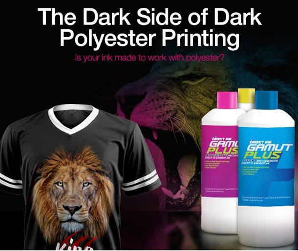 The Dark Side of Dark Polyester Printing
