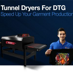 Tunnel Dryers for Direct to Garment