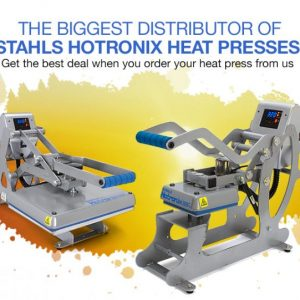 The Biggest Distributor of Stahls Hotronix Heat Presses