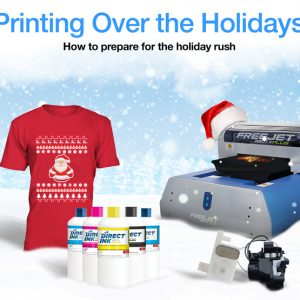 Printing Over The Holidays – How to Prepare For The Holiday Rush