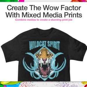 Create the Wow Factor with Mixed Media Prints