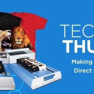 Technical Thursday: Making the Most with your Direct to Garment Printer