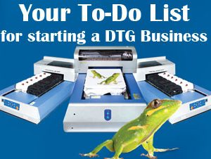 Friday Favorites: What To-Do Before You Start Your DTG Business