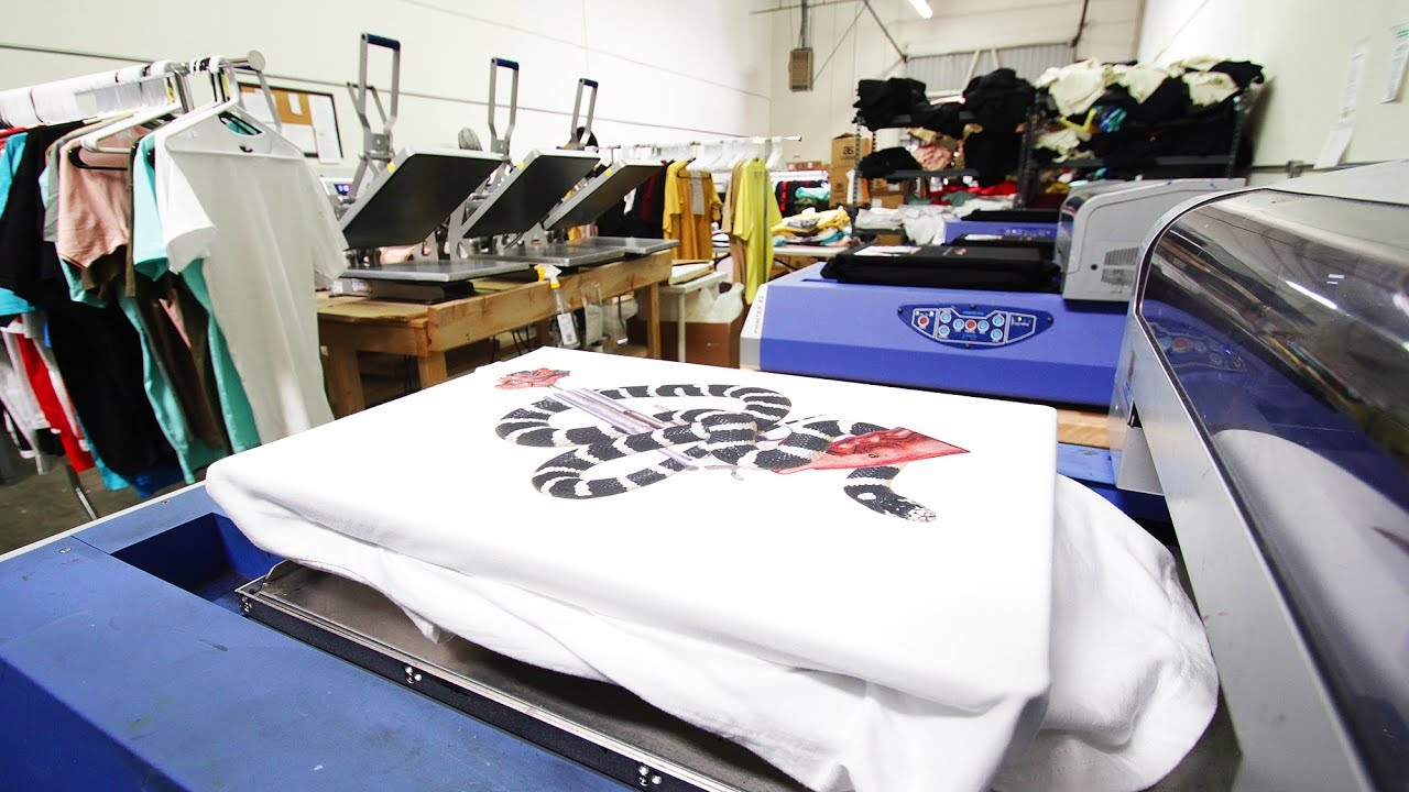 Start Your Own T Shirt Printing Business Using a DTG ...
