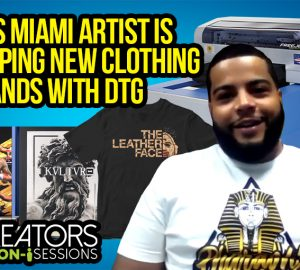 This Miami Artist Is Helping New Clothing Brands With DTG