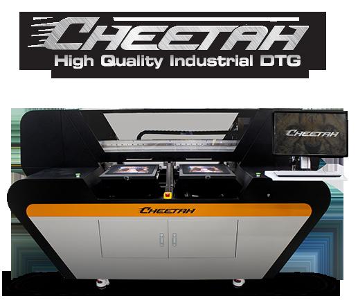 053afaa2d Cheetah Industrial DTG Printer, Industrial Digital T Shirt Printing Machine
