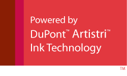 Authentic Dupont Artistri Technology